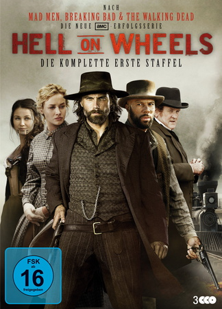Hell on Wheels - Die komplette erste Staffel