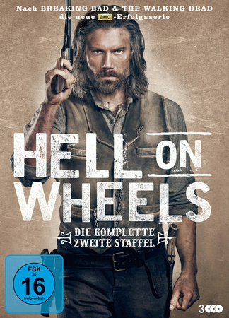 Hell on Wheels - Die komplette zweite Staffel