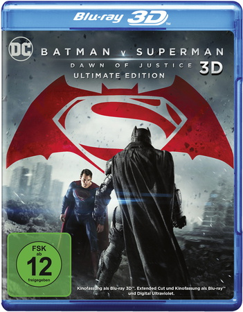 Batman v Superman: Dawn of Justice (nur 3D)
