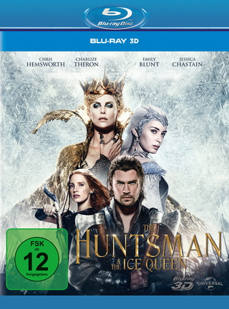 The Huntsman & the Ice Queen (Blu-ray 3D, Extended Edition) (nur 3D)