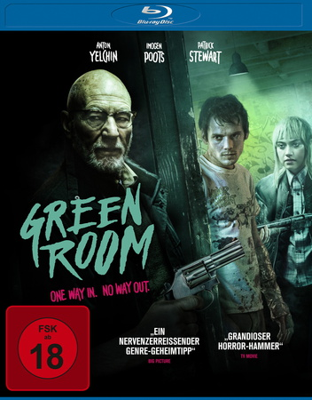 Green Room - One Way In. No Way Out.